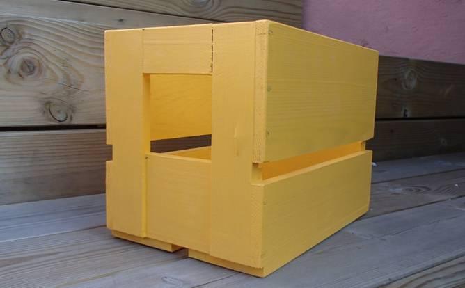 Bilde av Ølkasse gul