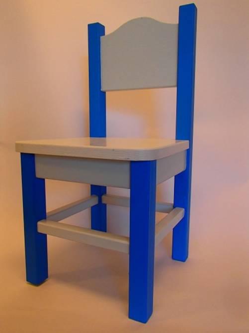 Bilde av Barnestol blå