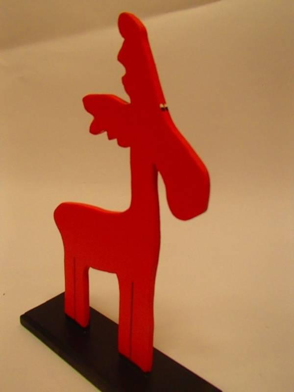 Bilde av Liten elg, rød