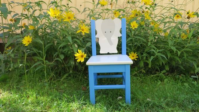 Bilde av Elefantstol blå