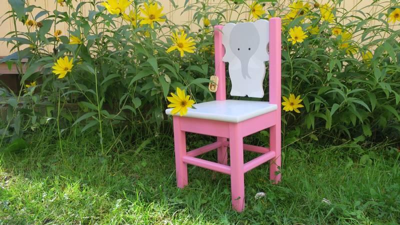 Bilde av Elefantstol rosa