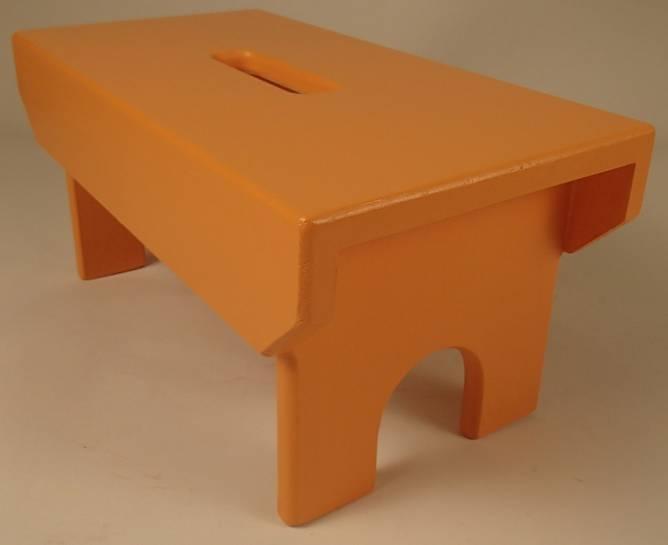 Bilde av Skammel orange 1