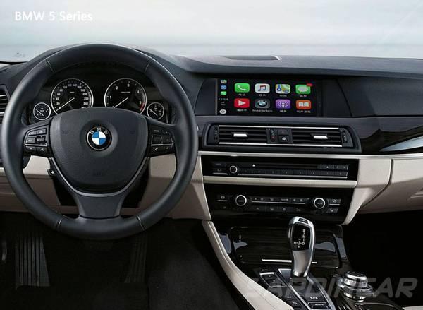 Bilde av Trådløs Apple CarPlay og Android Auto BMW m/CiC AMPIRE