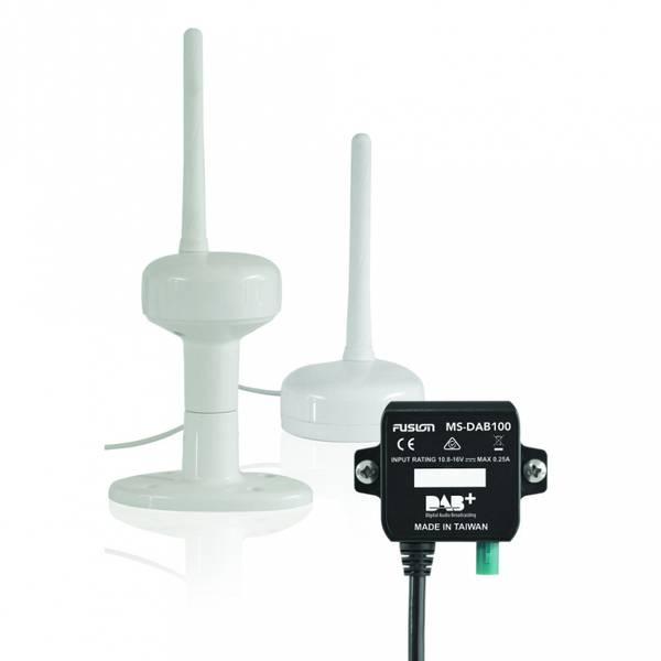 Bilde av Fusion DAB+ Komplett DAB+ modul med maritim antenne og