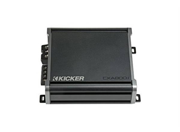 Bilde av Kicker CXA800.1 - forsterker 800W Mono, KickEQ™, FIT™,