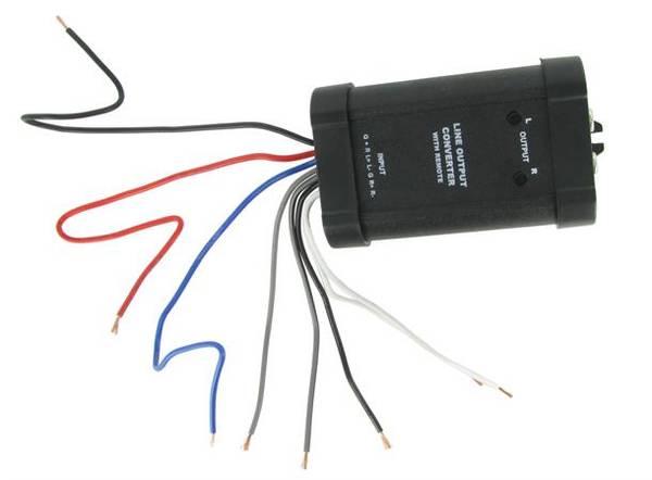 Bilde av CONNECTS2 Høy til lav-nivå adapter Med remote utgang