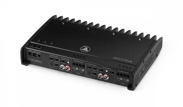 Bilde av JL Audio - 300/4v3 forsterker 4x75W Slash v3, klasse A/B