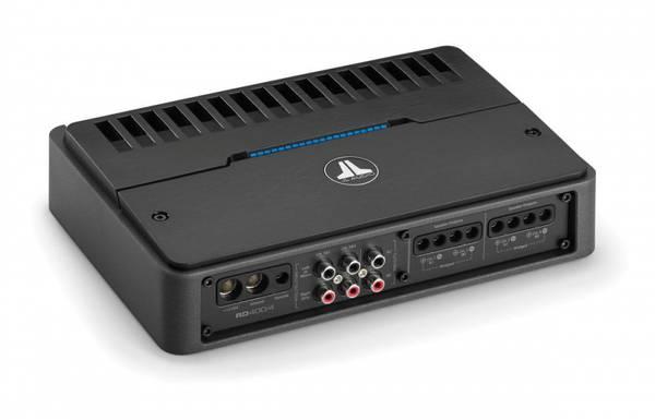 Bilde av JL Audio RD400/4 - multikanals forsterke 4x100W, klasse D,