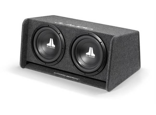 Bilde av JL Audio - CP212-W0V3 basskasse dobbel 12WØv3 i kasse,