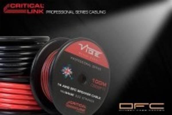 Bilde av Vibe 8 G OFC 10mm2 Rød strømkabel pr meter