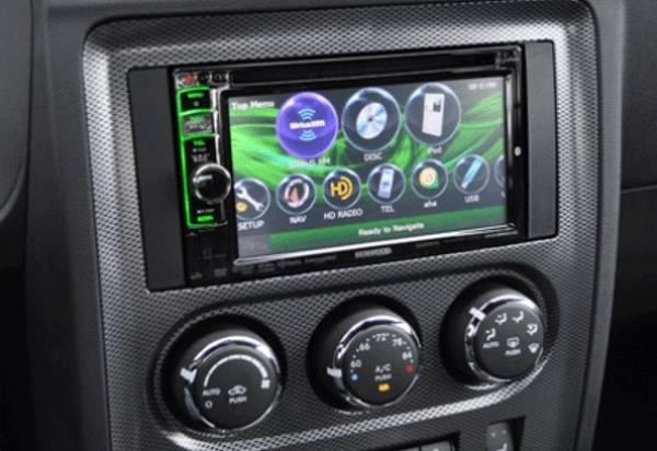 Bilde av Premium 2 din monterings kit Dodge Challenger