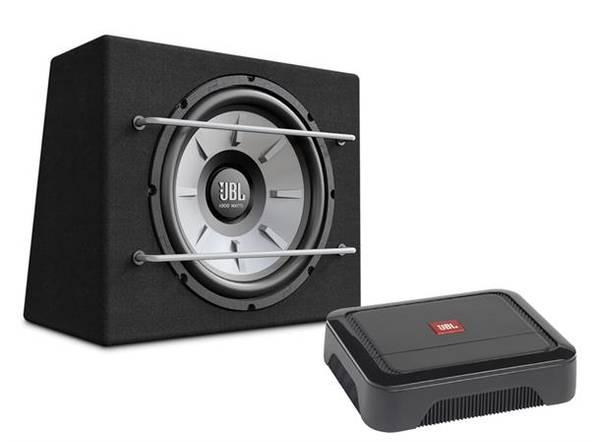 Bilde av JBL pakke med CLUBA600 og STAGE1200B Basspakke med