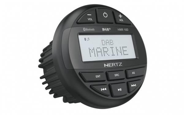Bilde av Hertz HMR10D Marine DAB+ radio m/bt 100% vanntett front