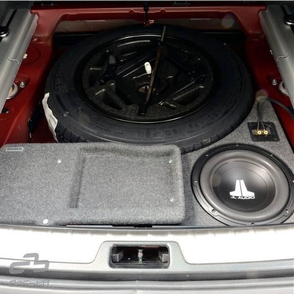 Bilde av BMW X5 / X6 2006 - 2014 JL Audio 10W1v3-4  BILTILPASSET