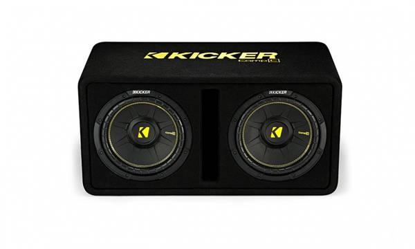 Bilde av KICKER 44DCWC102 basskasse CompC 10-inch Subwoofers 2ohm