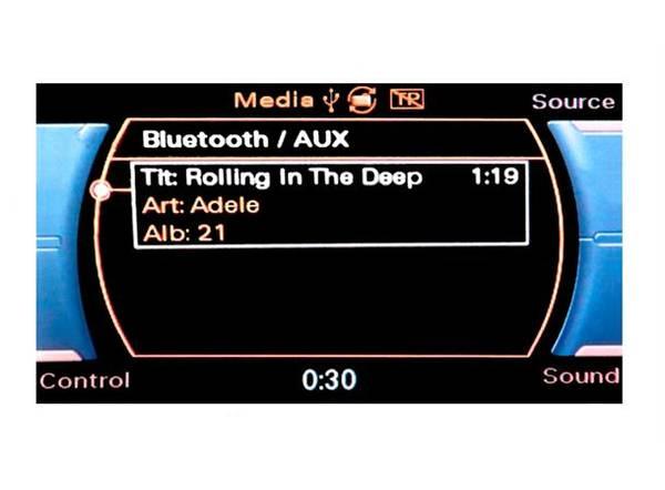 Bilde av ConnectED BT AUDIO/AUX-adapter (MOST) Audi m/MMI 3G