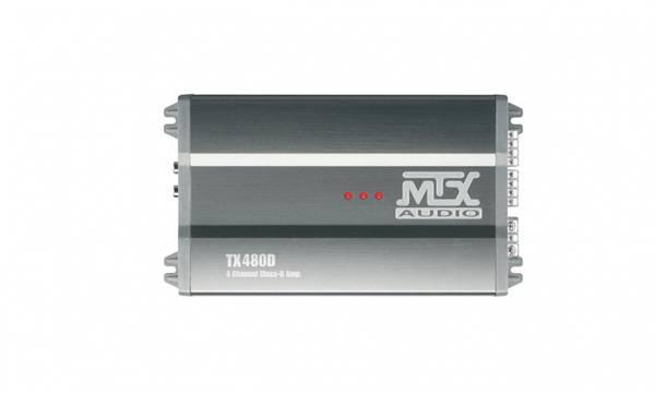 Bilde av MTX Audio TX480D forsterker 4x80W