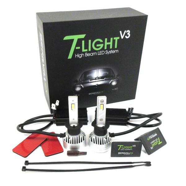 T-LIGHT v3 Porsche 993 Litronic High beam LED kit