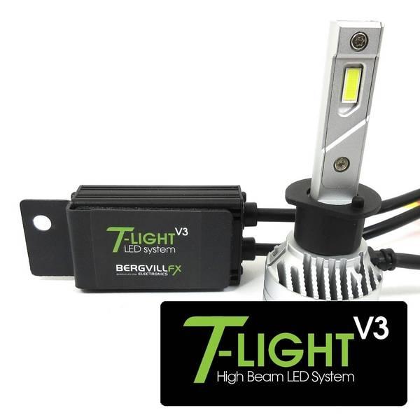 T-LIGHT v3 Porsche 993 High beam LED kit