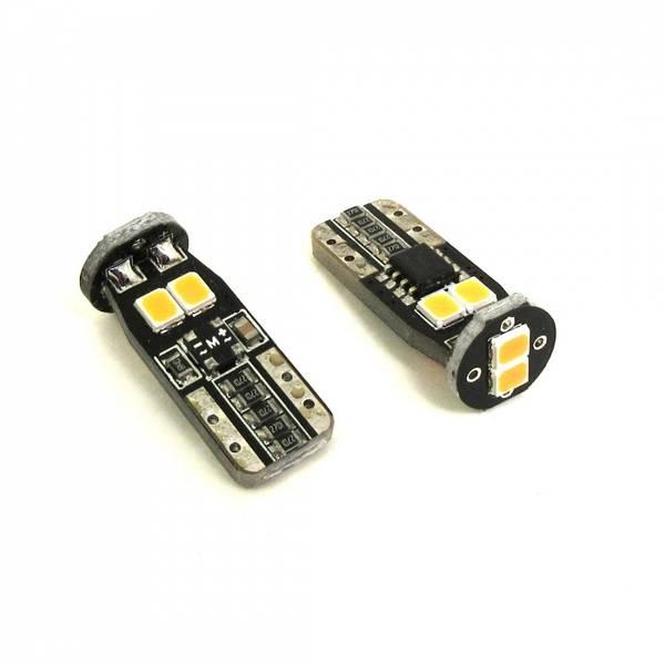 LED wedge bulb, T10 amber Super bright