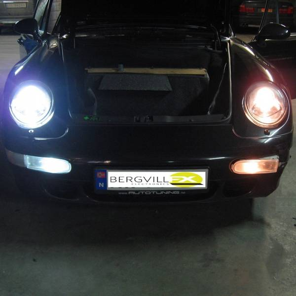 T-LIGHT v3 Porsche 993 HID kit 4300K