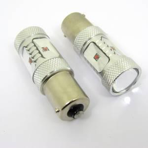 Image of LED bulb BA15S/1156 Red