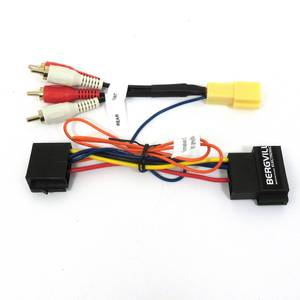 Image of Mini ISO-RCA harness for Blaupunkt SQR 46