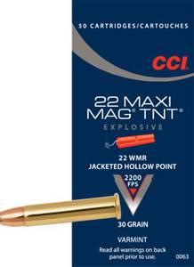 Bilde av CCI 22 WMR Maxi-Mag TNT 50 skudd
