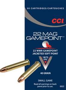 Bilde av CCI 22 WMR Game Point  50 skudd