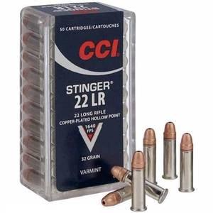 Bilde av CCI 22 LR Stinger 50 skudd