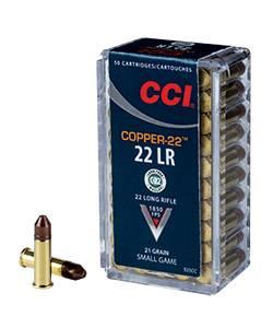 Bilde av CCI 22 LR Copper CHP 50 skudd