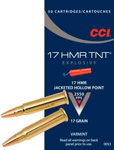 Bilde av CCI 17 HMR TNT HP 50 skudd