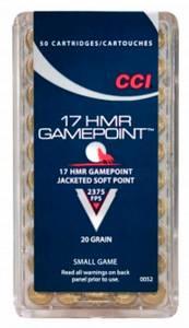 Bilde av CCI 17 HMR GAME POINT  50 skudd