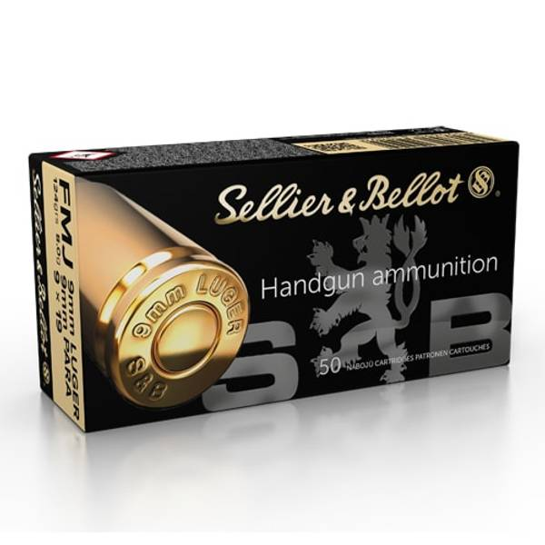 Helmantel S&B 9mm Luger 124 gr