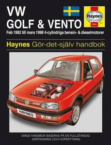 Bilde av VW Golf III & Vento (92 - 98)