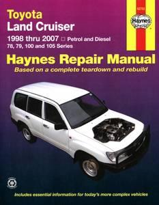 Bilde av Toyota Land Cruiser manual 98-07