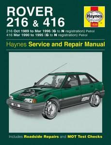 Bilde av Haynes, Rover 216 and 416 Petrol