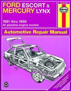 Bilde av Ford Escort and Mercury Lynx (81
