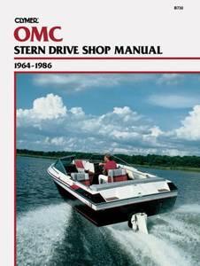 Bilde av Clymer Manuals OMC Stern Drives,