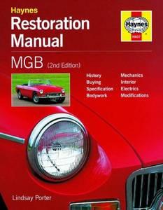 Bilde av MGB Restoration Manual (2nd