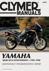 Bilde av Clymer Manuals Yamaha XJ600 Seca