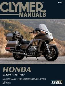 Bilde av Clymer Manuals Honda GL1200 Gold