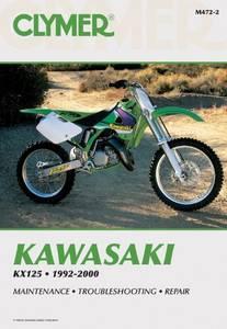 Bilde av Clymer Manuals Kawasaki KX125