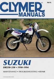 Bilde av Clymer Manuals Suzuki DR250-350