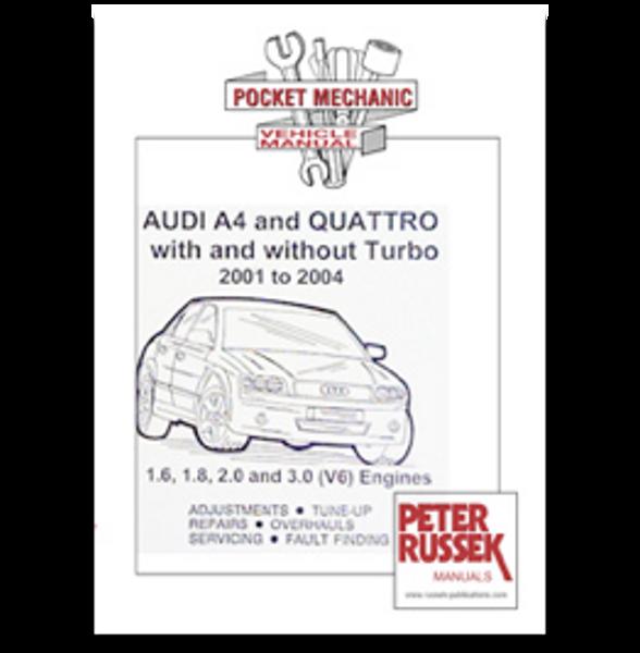 Russek Publications Manual: A4 & Quattro '01 to '04