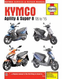 Bilde av Kymco Agility & Super 8 Scooters
