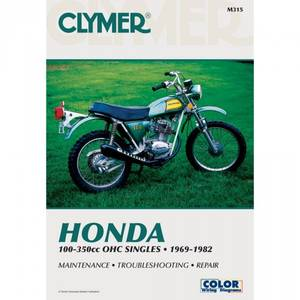Bilde av Clymer Manuals Honda 100-350cc