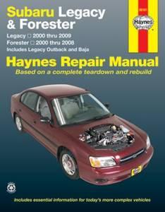 Bilde av Haynes reparasjonshåndbok Subaru