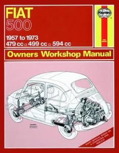 Bilde av Haynes bilbok Fiat 500 (57 - 73)