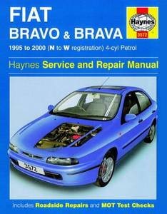 Bilde av Haynes bilbok Fiat Bravo and